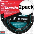 "Makita A-96229 2pk 14"" Metal Cutting Diamond Blade"