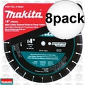 "Makita A-96229 8pk 14"" Metal Cutting Diamond Blade"