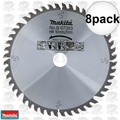 "Makita B-07353 8pk 6-1/2"" 48 Tooth Circular Saw Blade"