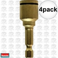 "Makita B-35069 4pk 7/16"" Impact GOLD Grip-It Nutsetter"