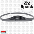 "Makita B-40559 4x 5pk 32-7/8"" x 1/2"" Compact Band Saw Blade 18 TPI"