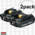 Makita BL1820-2 2pk 18V LXT Lithium-Ion Compact 2.0Ah Battery