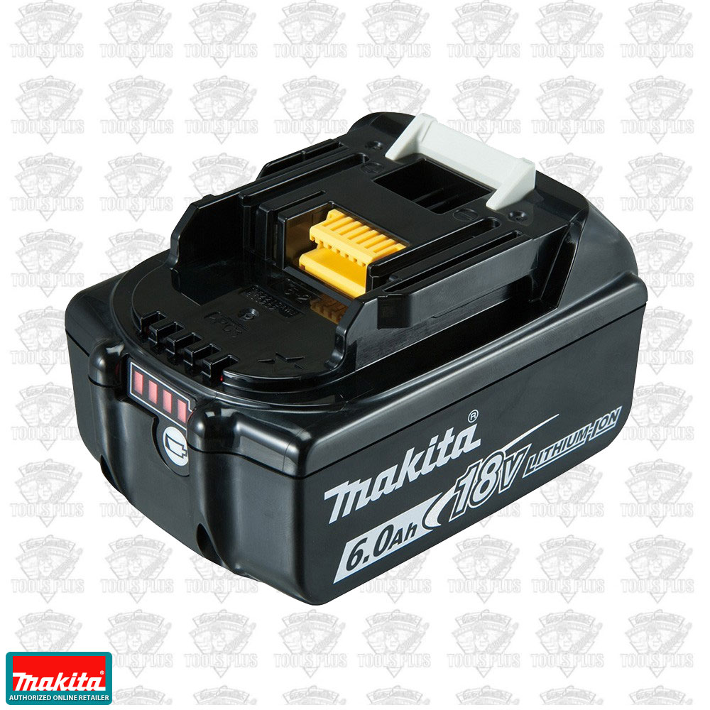 Makita bl1860b 18v lxt lithium ion 6 0 ah battery - Batterie makita 18v ...