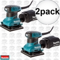 Makita BO4556 2pk 1/4 Sheet Finish Sander