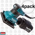 Makita BO4556 4pk 1/4 Sheet Finish Sander