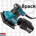 Makita BO4556 8pk 1/4 Sheet Finish Sander