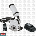 "Makita CC01W 12V Max Cordless Lithium-Ion 3-3/8"" Tile/Glass Saw Kit O-B"
