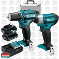 Makita CT226RX 12 Volt Max Li-Ion Cordless 2-Piece Combo Kit
