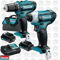 Makita CT266 12V Max CXT Lithium-Ion Cordless Impact Drill Driver Combo Kit