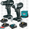 Makita CX200RB 18V LXT Li-Ion Sub-Compact BL 2-Piece 3 Battery Combo Kit