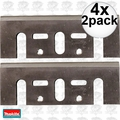 "Makita D-46230 4x 2pk 3-1/4"" High Speed Steel Planer Blades (old # D-17217"