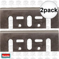 "Makita D-46230 2pk 3-1/4"" High Speed Steel Planer Blades (old # D-17217"