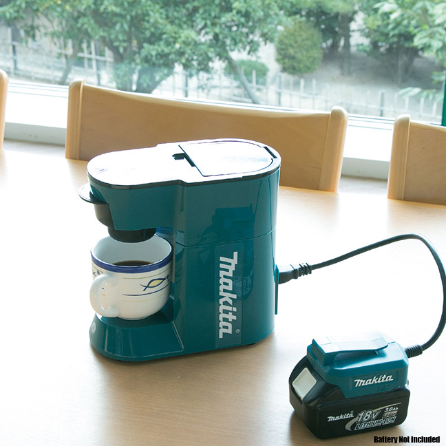 Makita Portable Coffee Maker : Makita DCM500Z Cordless Coffee Maker 18volt LXT or 115volts cord powered