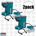 Makita DCM500Z Cordless Coffee Maker 18volt LXT or 115volts cord powered 2x