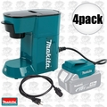 Makita DCM500Z Cordless Coffee Maker 18volt LXT or 115volts cord powered 4x