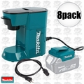 Makita DCM500Z Cordless Coffee Maker 18volt LXT or 115volts cord powered 8x