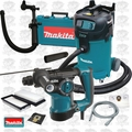 Makita HR2811F 1-1/8 SDS Plus Rotary Hammer Kit w/HEPA Vac Dust Collector