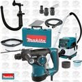 Makita HR2811F 1-1/8 SDS Plus Rotary Hammer w/HEPA Vac Dust Collector