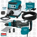 "Makita HR5212C 2"" AVT SDS-MAX Rotary Hammer w/HEPA Vac+Dust Extraction"
