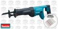 Makita JR3050T Reciprocating Saw KIT + 5Pk Lenox 'Metal' Blades