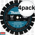 "Makita T-01270 4pk 14"" Segmented Dual Purpose Diamond Blade"