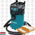 Makita VC4710 12GAL Xtract Vac HEPA Wet/Dry Dust Extractor w/ 2 HEPA Filters