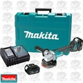 "Makita XAG03M 18V LXT Brushless 4-1/2"" Cut-Off Angle Grinder Kit"
