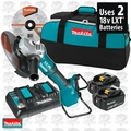 "Makita XAG13PT1 18V X2 LXT Li-Ion 9"" Paddle Switch Cut-Off/Angle Grinder"