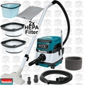 Makita XCV04Z 36V X2 LXT 2.1G Dry Dust Vacuum w/2 HEPA Filters(Tool Only)