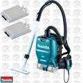 Makita XCV05Z 18V X2 36v LXT HEPA Backpack Vac w/2 Filters (Tool Only)