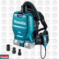 Makita XCV05ZX 36V 1/2G HEPA Backpack Dry Dust Extractor/Vac w/Tool Adapters