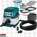 Makita XCV07ZX 18V X2 LXT Dry Dust Extractor w/ 2 HEPA Filters (Tool Only)