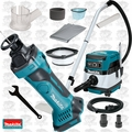 Makita XOC01Z 18V LXT Drywall Cut-Out Tool w/HEPA Vac Dust Collector+Shroud
