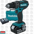 "Makita XPH102 18V LXT Li-Ion 1/2"" Hammer Driver-Drill Kit replaces XPH012 O-B"
