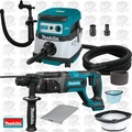 "Makita XRH04Z 7/8"" 18V LXT Li-Ion SDS Rotary Hammer w/HEPA Dust Collector"