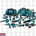 Makita XT1501 18-Volt 3.0Ah 15pc Lithium-Ion Power Tool Cordless Combo Kit