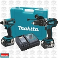 Makita XT218M 18V LXT Lithium-Ion Cordless 2pc Combo Kit w/ 4.0Ah Batteries