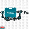 Makita XT252TB 18V LXT Li-Ion Brushless Cordless 2pc Combo Kit w/ 5.0Ah Batt