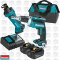 Makita XT255MB LXT 18V 4.0 Ah Li-Ion BL Screwdriver/Cut-Out Tool Kit