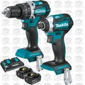 Makita XT275PT 18V LXT Lithium-Ion Brushless Cordless 2-Pc. Combo Kit