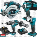Makita XT449T 4pc 18V LXT Lithium-Ion Brushless Cordless Combo Kit