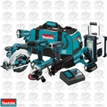 Makita XT702 7 Piece 18 Volt LXT Lithium-Ion Combo Kit