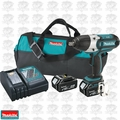 "Makita XWT04M 18V LXT 4.0 Ah Li-Ion 1/2"" High Torque Impact Wrench Kit"