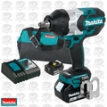 "Makita XWT08M 18V 4.0 LXT Li-Ion Brushless 1/2"" Square Drive Impact Kit"