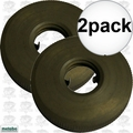 "Metabo 316055450 2pk Outer Nut ""Quick Nut"" Clamping Flange Nut"