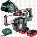 Metabo 600211900 18V Rotary Hammer w/Dust Collection 2x 7ah Batts +Charger