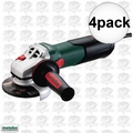 "Metabo 600371420 4pk 4-1/2"" Angle Grinder w/ Quick Wheel Change System"