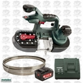 Metabo MBS18LTX25-X1 Band Saw (Bare) with 5.2ah Battery & Charger