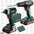 Metabo 685087520 Combo 2.1.8 18 V Cordless Machines in a Set