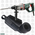 "Metabo KHED-26 1"" SDS Combination Rotary Hammer w/ Dust Extraction Acc."